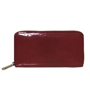 Louis Vuitton Vernis Zippy Wallet in Freesia Pink